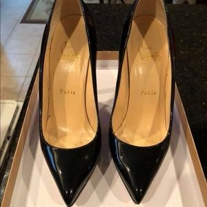 Christian Louboutin Pigalle 120 Black size 36.5